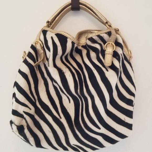 ANTONIO MELANI Handbags - Antonio Melani Zebra Hide Handbag